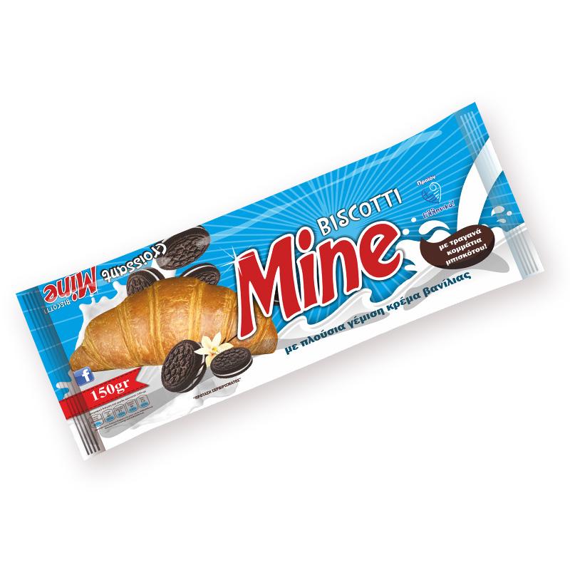 κρουασάν biscoti mine